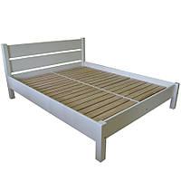 """Ліжко """"РЕЛІНГ"""", бук, білий"""