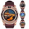 Наручные смарт часы Smart Watch V8 розовые Реплика отличного качества