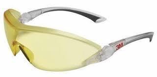 Очки защитные желтые 2842 с регулир. дужками