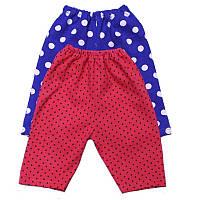 Удлиненные шорты для девочек стрейч хлопок
