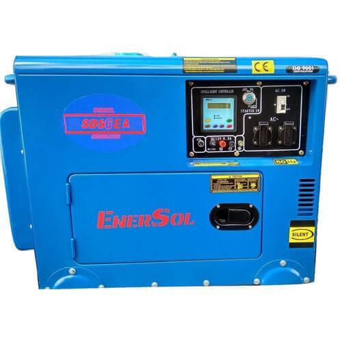 Дизельный генератор однофазный EnerSol SDS-6EA