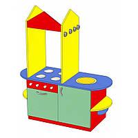 Детская игровая стенка Кухня Золушка №3. W354