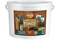 Деревозащита для пиленых деревянных поверхностей Pinotex Fence 10л (Орегон)