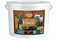 Деревозащита для пиленых деревянных поверхностей Pinotex Fence 2,5л (Красное дерево)
