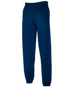 Мужские спортивные штаны с резинкой внизу S Темно-Синий