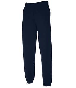 Спортивные штаны с резинкой внизу Fruit of the Loom S Глубокий Темно-Синий