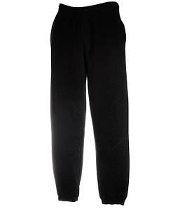 Мужские спортивные штаны с резинкой внизу M Черный