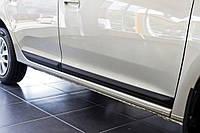 Боковые молдинги накладки на двери Renault Logan Рено Логан (2013-) SED