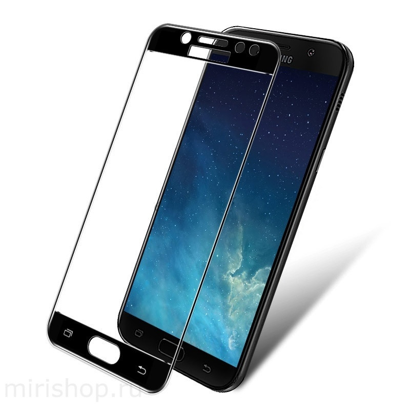 Защитные стёкла для смартфонов Samsung 5D, Black