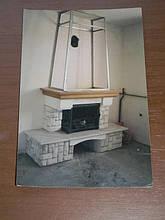 теплота в доме , монтаж дымоходов для твердотопливных котлов, камины монтаж, наши работы  49