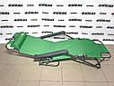 Кресло-шезлонг двух позиционное 156 х 60 х 82 см, Camping Palisad, фото 4