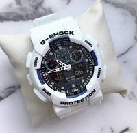 Мужские часы Casio G-Shock (Белые)