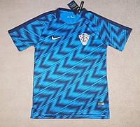 Футболка сборной Хорватии ЧМ 2018, синяя