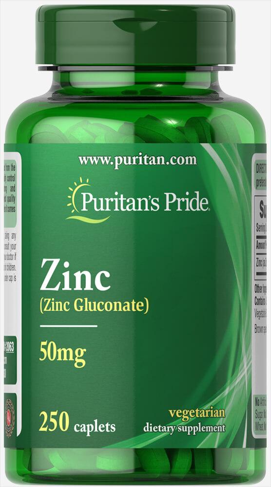 Puritan's prideZinc 50 mg (250 таб.)