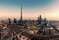 Фотообои 3D город 368х254 см (флизелин, бумага) Дубай (5052WG)