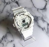 Женские часы Casio G-Shock (Белые)
