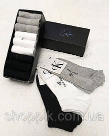 Набор носков Calvin Klein 9 пар в подарочной упаковке . Мужские носки