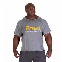 "Мужская тренеровочная футболка рэг-топ ""MUTANT"" XL, серый"