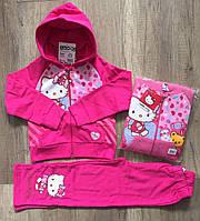 Трикотажный костюм 2 в 1 для девочек оптом, Disney, 92-128 см,  № 990-213