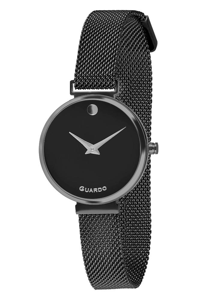 Часы женские Guardo B01401-8 черные