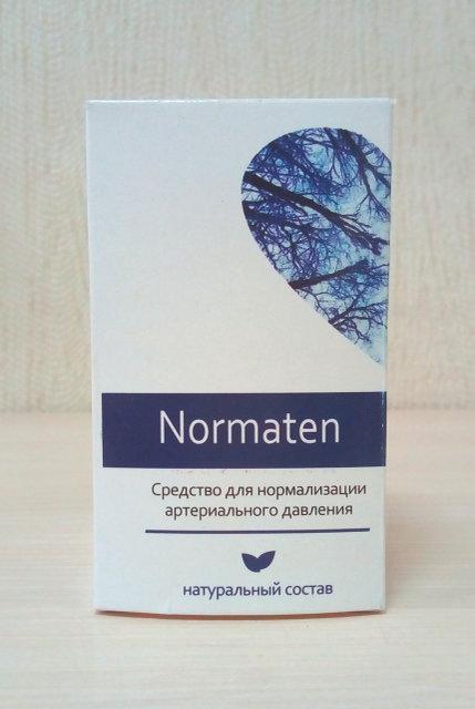 Normaten - Шипучі таблетки від гіпертонії (Норматен)