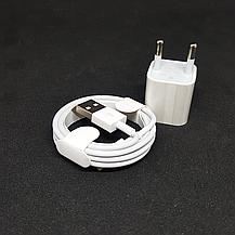 СЗУ адаптер 220 V + кабель Iphone Xs 2в1 2.4, фото 2
