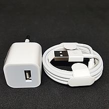 СЗУ адаптер 220 V + кабель Iphone Xs 2в1 2.4, фото 3