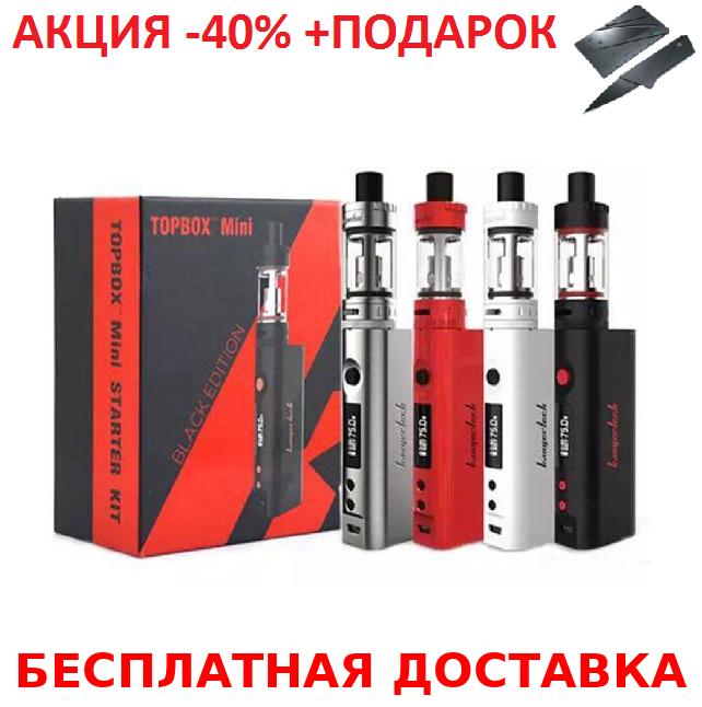 Электронная Сигарета KangerTech TOPBOX Mini 75W SILVER +нож-визитка