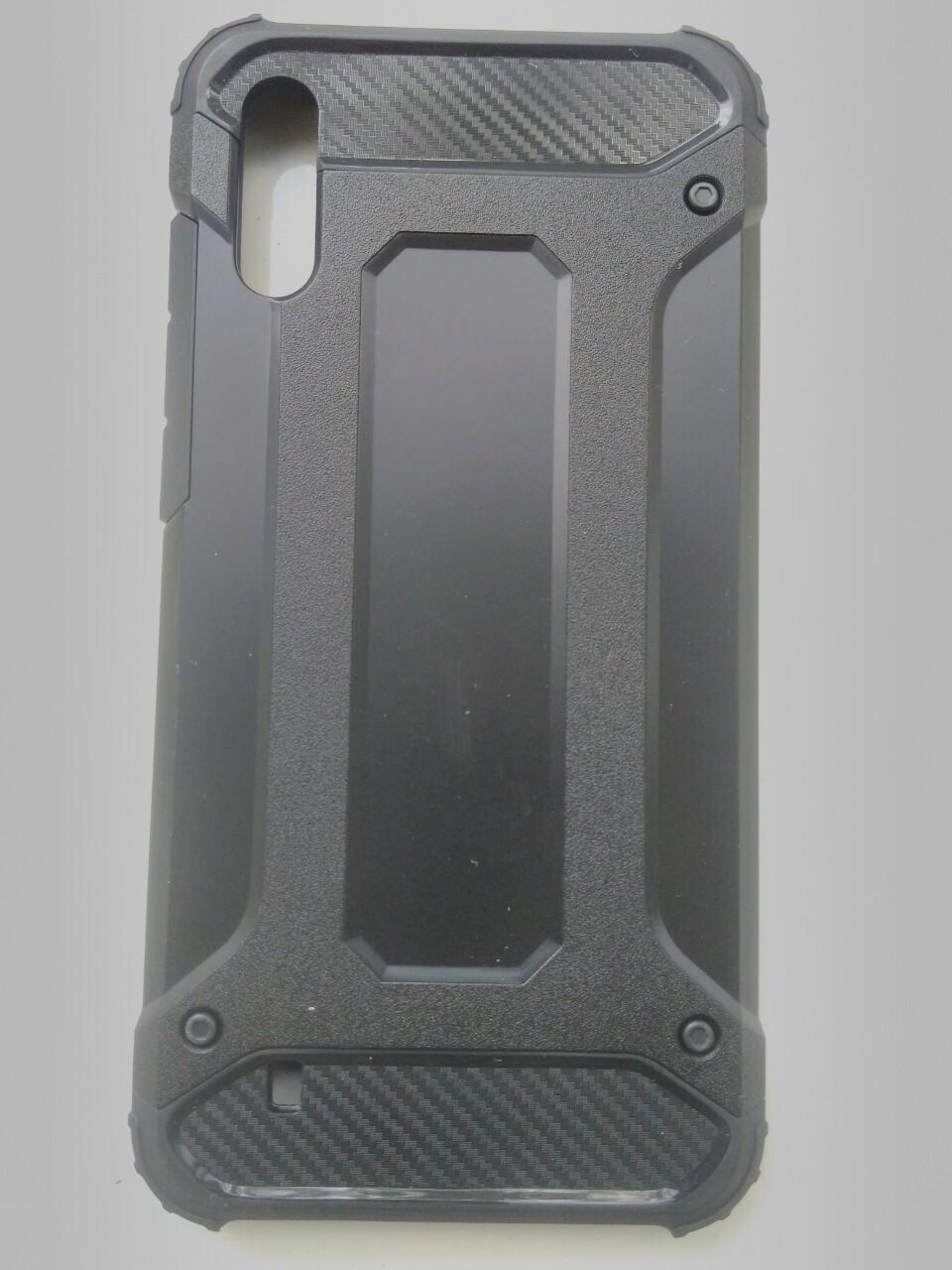 Чехол трансформер  противоударный Samsung M10 2019  ( черный)
