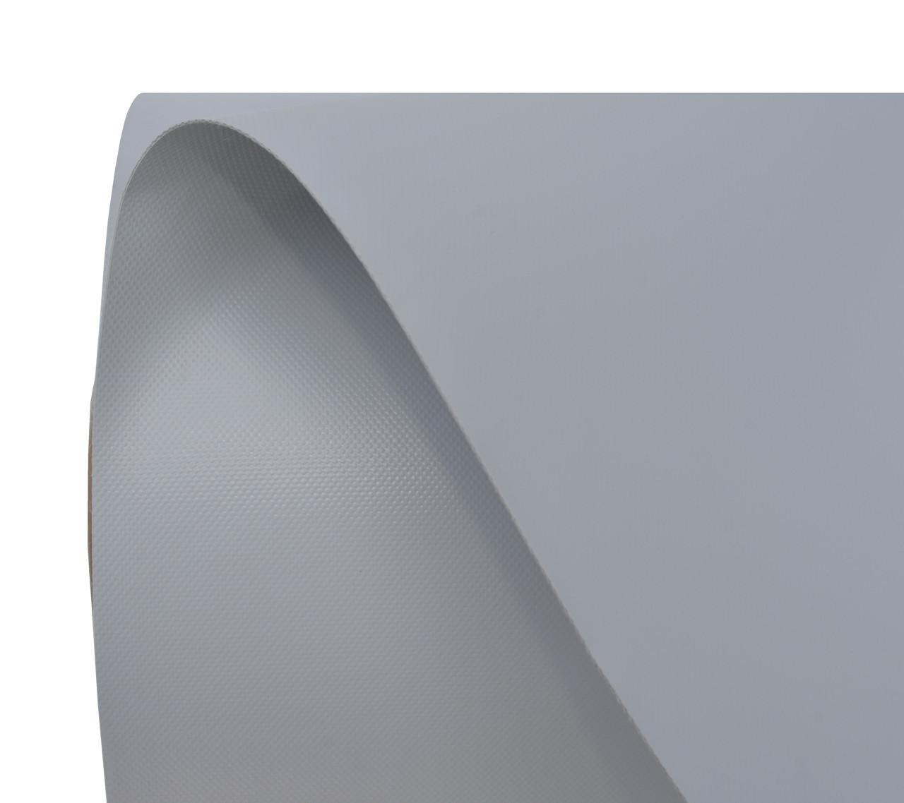 Ткань ПВХ (PVC) 50х205м светло-серая 950гр рулон