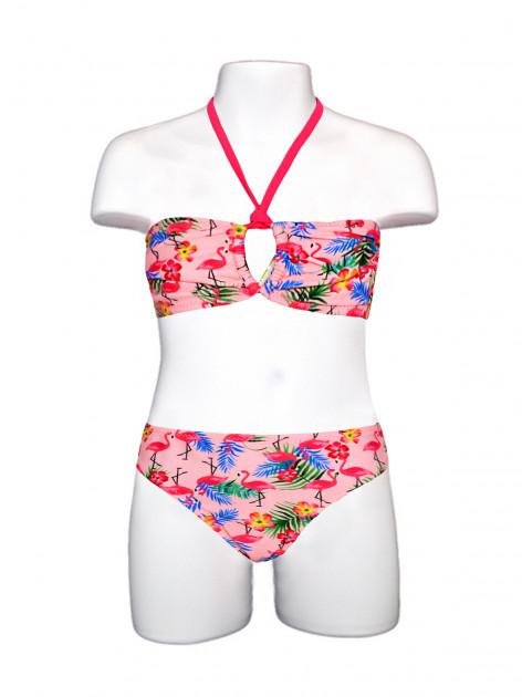 Детский купальник раздельный Keizy Flamingo р.152-164