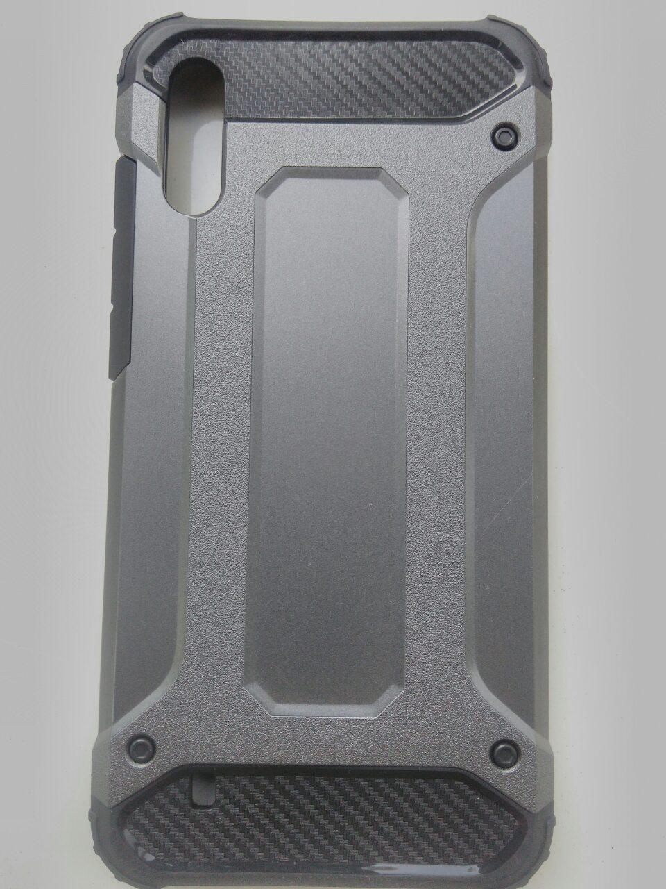 Чехол трансформер  противоударный Samsung M10 2019  ( серый)