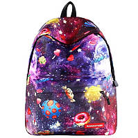 Рюкзак Космос школьный цветной Конфетный, фото 1