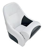 Кресло Flip up с крепежной пластиной серо-черное синее
