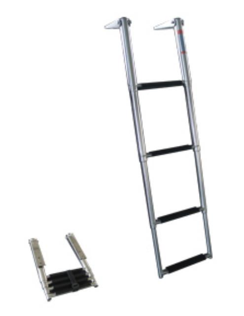 Лестница 254х1150мм 4 ступени телескопическая