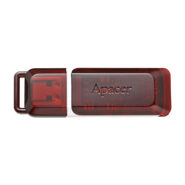 Apacer USB 2.0 AH321 Red 16GB (AP16GAH321R-1)