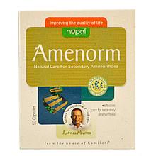 Аменорм (Amenorm, Nupal Remedies) для успешного лечения вторичной аменореи, 50 капсул