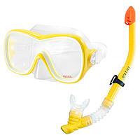 Набор для плавания маска+трубка 55647