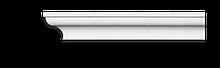 Карниз потолочный гладкий Classic Home 2-0350, лепной декор из полиуретана