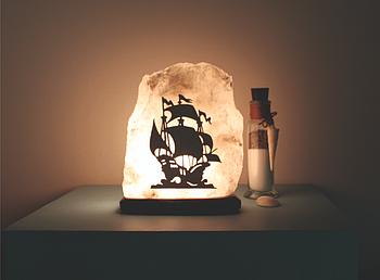 Арт светильник карабль