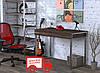 Стол письменный с 2 выдвижными ящиками. Размер 1100х550х750 мм