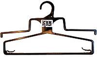 Вешалки для детской одежды черные 20,24 28 см.