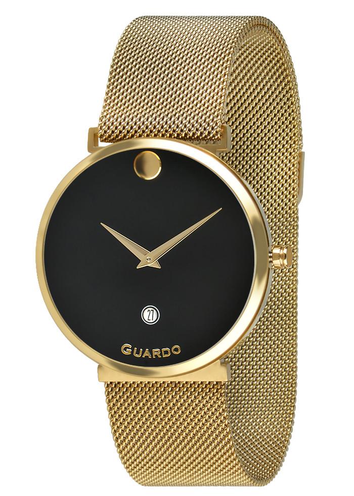 Годинники жіночі Guardo B01402-3 золоті