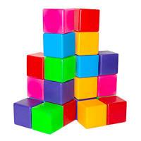Детские кубики цветные Бамсик 20 шт (111/2)