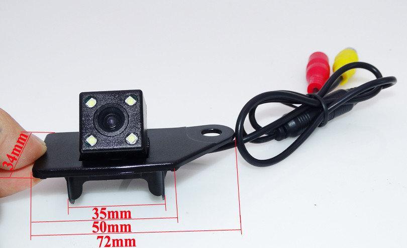 Камера заднего вида Mitsubishi ASX 2011 2012 2013 2014 цветная матрица CCD