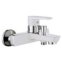 Змішувач для ванни Imprese Breclav 10245W Хром/білий, фото 1