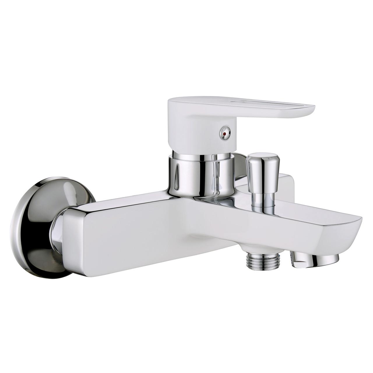 Змішувач для ванни Imprese Breclav 10245W Хром/білий
