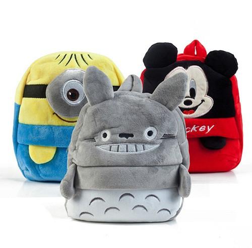 Плюшевые рюкзаки, сумочки, пеналы