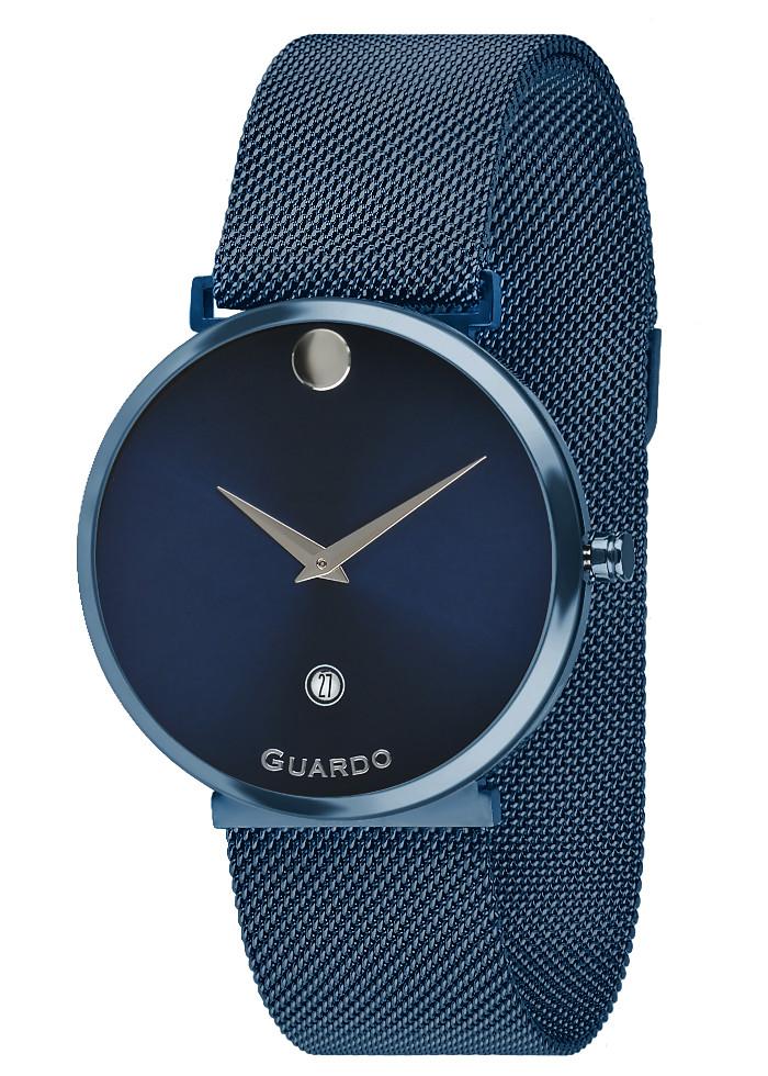 Часы женские Guardo B01402-10 синие