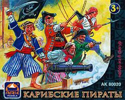 Карибские пираты набор из 8-ми фигур. ARK MODELS 80020